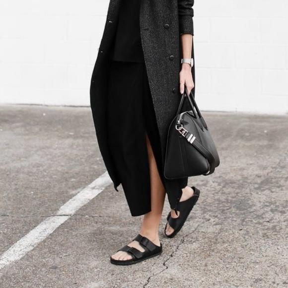latest design new high outlet on sale Birkenstock Shoes | All Black Rubber S | Poshmark